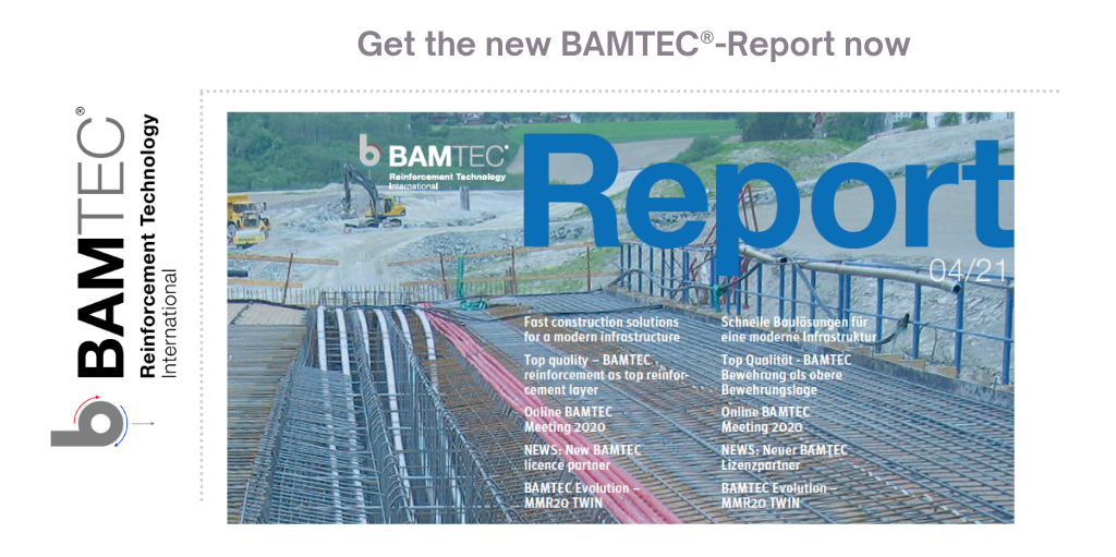 Infrastructre projects such as bridges can be built much faster with BAMTEC prefabricated rebar elements. It reduces traffic congestion.